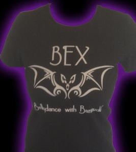 Bex, Bellydance with Battitude Tee-Shirt