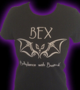 Bex, Bellydance with Battitude Tee-Shirt